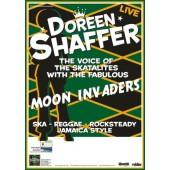 Poster - Doreen Shaffer with the Moon Invaders 'tour 2011' A2