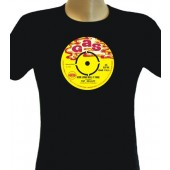 Girlie Shirt 'Gas Records' black, all sizes