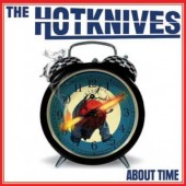 Hotknives 'About Time'  LP red vinyl