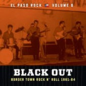 V.A. 'El Paso Rock Vol. 6: Black Out'  LP
