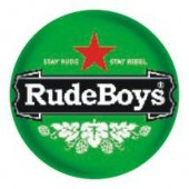 fridge magnet 'Rude Boys - Stay Rude' 43 mm
