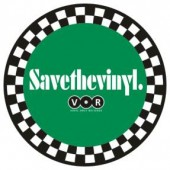 free for orders over  50 €: fridge magnet 'Save The Vinyl'