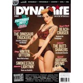 Dynamite! Magazine # 82 - The World Of Rock'n'Roll - 130 S. + CD *Smokestack Lightnin'* Buttshakers*Steadytones