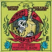 V.A. 'Outcasts Of Sobriety - Punkabilly Blend'  CD