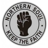 pin 'Northern Soul - Keep The Faith'