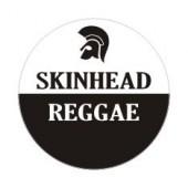 PVC sticker 'Skinhead Reggae' round