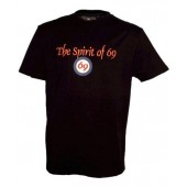 T-Shirt 69 'Steady' black all sizes