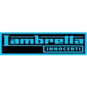 PVC sticker 'Lambretta'