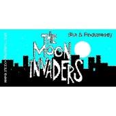 PVC sticker 'The Moon Invaders - angular'