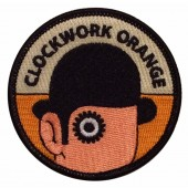 patch 'Clockwork Droogie Head'