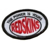 patch 'Redskins - The Power Is Yours'