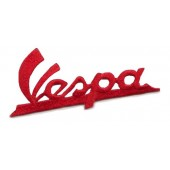 patch 'Vespa logo lettering' red