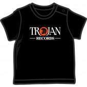 Baby Shirt 'Trojan Records' black, all sizes