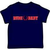 Baby Shirt 'Rude Baby' navy, all sizes