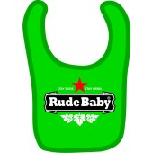 baby bib 'Rocksteady' light blue