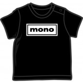 Baby Shirt 'Mono' black, 5 sizes