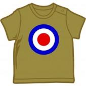 Baby Shirt 'Mod Style - Target' olive, 5 sizes