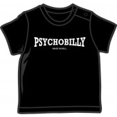 Baby Shirt 'Psychobilly - Made in Hell' 5 sizes