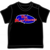 Baby Shirt 'Keytones' black, all sizes
