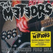 Meteors 'Maniac Rockers From Hell'  CD + DVD