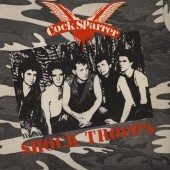Cock Sparrer 'Shock Troops'  LP ltd. smoke red 180g vinyl