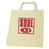 Cotton Bag 'Soul Records' - natural cotton