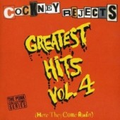 Cockney Rejects 'Greatest Hits Vol. 4 - Here They Come Again'  CD