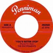 Excitements 'You'd Better Stop' + 'From Now On'  7""