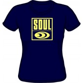 free for orders over 150 €: Girlie Shirt 'Soul Records' all sizes