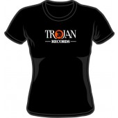 Girlie shirt 'Trojan Records' black, all sizes