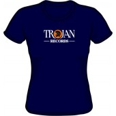 Girlie shirt 'Trojan Records' black, all sizes