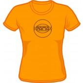 Girlie Shirt 'Pama Records' light orange, all sizes