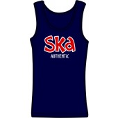 Girlie tanktop 'Ska Authentic' sizes small, medium'