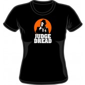 Girlie Shirt 'Judge Dread' black, sizes small - XL