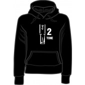 girlie hooded jumper 'Two Tone' all sizes