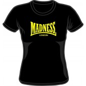 Girlie Shirt 'Madness' black, all sizes
