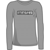 Girlie Shirt 'Intensified - Longsleeve' - sizes small, medium
