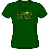 Girlie Shirt 'Desmond Dekker' green, all sizes