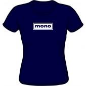 Girlie Shirt 'Mono' black, all sizes