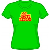 Girlie Shirt 'Roots Reggae' kelly green - sizes S - 2XL