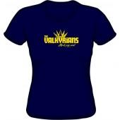 Girlie Shirt 'Valkyrians' navy, sizes S - XXL