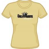 Girlie Shirt 'Valkyrians' sand, sizes small - XXL