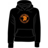 Girlie hooded jumper '8°6 Crew - Bad Bad Reggae' black, sizes small - XL