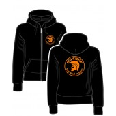 Girlie Zipper Jacket '8°6 Crew - Bad Bad Reggae' black, sizes S - XL
