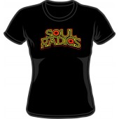 Girlie Shirt 'Soul Radics - Big Shot' black, sizes small - XXL