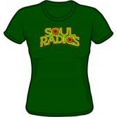 Girlie Shirt 'Soul Radics - Big Shot' bottlegreen, sizes small - XXL