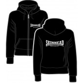 Girlie Zipper Jacket 'Punkrock Since 1976' black, sizes S - XL