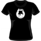 Girlie Shirt 'Clockwork Orange' black, all sizes