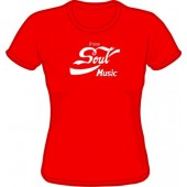 Girlie Shirt 'Enjoy Soul Music' all sizes
