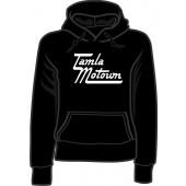 girlie hooded jumper 'Tamla Motown' all sizes